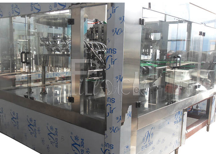 PET Plastic Glass 3 In 1 Monobloc Soda Drink Beverage Water Bottle Production Machine / Equipment / Plant / Syste